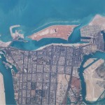Abu Dhabi from Space (photo, NASA 2003)